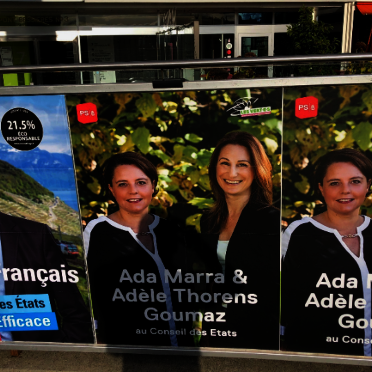 Plainte pénale déposée pour dommage à la propriété. Le PLR Vaud souhaite des campagnes franc-jeu.